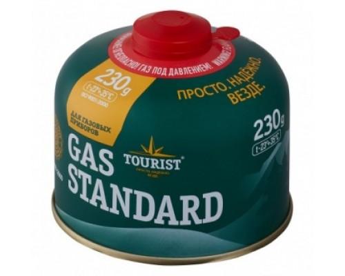 Газовый баллон Tourist GAS STANDARD (TBR-230) резьбовой