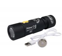 Фонарь на каждый день Armytek Prime C1 Magnet USB White (Холодный свет)