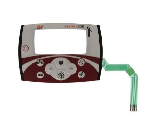 Передняя панель кнопок управления Minelab X-Terra 505