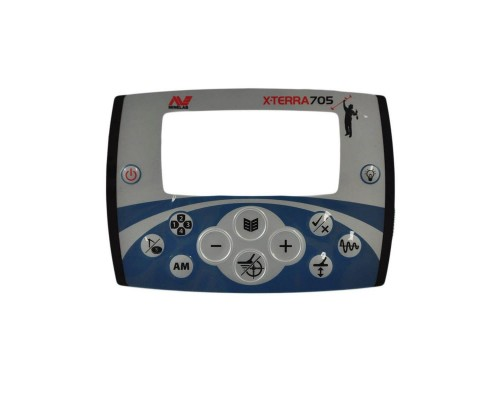 Передняя панель кнопок управления Minelab X-Terra 705