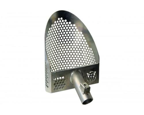 Пляжный полукруглый скуп CATERPILLAR Zinced Lite (без ручки, оцинкованная сталь)