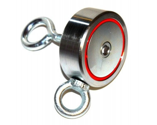 Поисковый магнит Редмаг двухсторонний 120x2 кг
