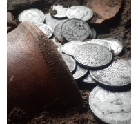 Объёмная картина ручной работы (панно) в виде клада монет купить в Минске, Беларуси.
