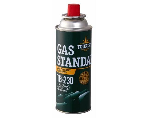 Газовый баллон Tourist GAS STANDARD (TB-230) цанговый