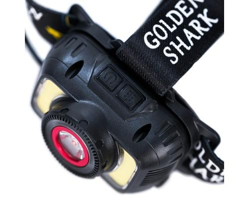 Фонарь налобный GOLDEN SHARK Sport