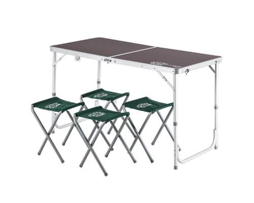 Стол со стульями GOLDEN SHARK Lunch Set 4