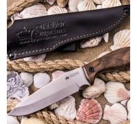 Туристический нож Kizlyar Supreme Flint AUS-8 Satin