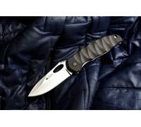 Складной туристический нож Kizlyar Supreme Hero 440C P