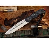 Туристический нож Kizlyar Supreme Legion AUS-8 Satin