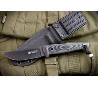Туристический нож Kizlyar Supreme Nikki AUS-8 BT Black Titanium