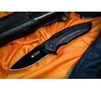 Складной туристический нож Kizlyar Supreme Zedd AUS-8 Black Titanium