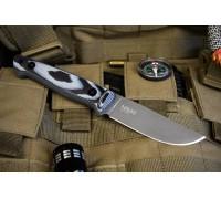 Туристический нож Kizlyar Supreme NIKKI AUS-8 TACWASH G10 КОЖА