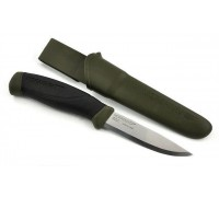 Нож Morakniv Companion MG (C), углеродистая сталь, цвет хаки