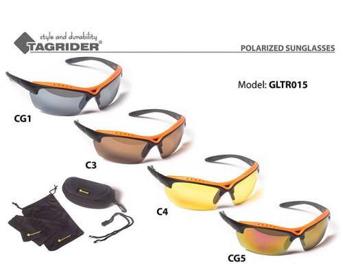 Очки поляризационные Tagrider в чехле GLTR 015 CG1 GR/M