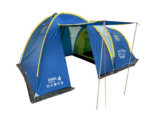 Палатка туристическая GOLDEN SHARK BERG MOSQUITO 4