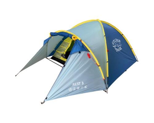 Палатка туристическая GOLDEN SHARK REST 3