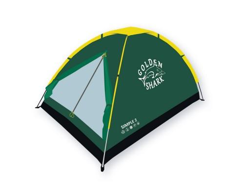 Палатка туристическая GOLDEN SHARK Simple 2