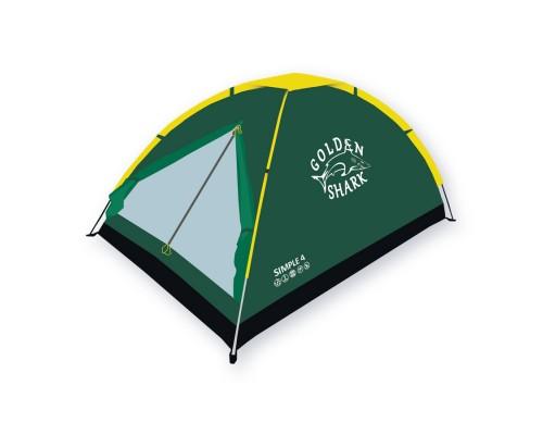 Палатка туристическая GOLDEN SHARK Simple 4